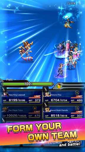 FINAL FANTASY  BRAVE EXVIUS apkpoly screenshots 14