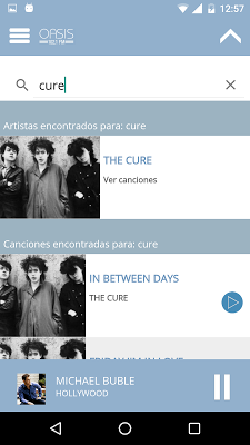 Oasis FM - screenshot