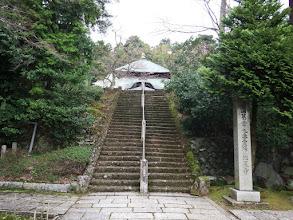 山門から松尾寺