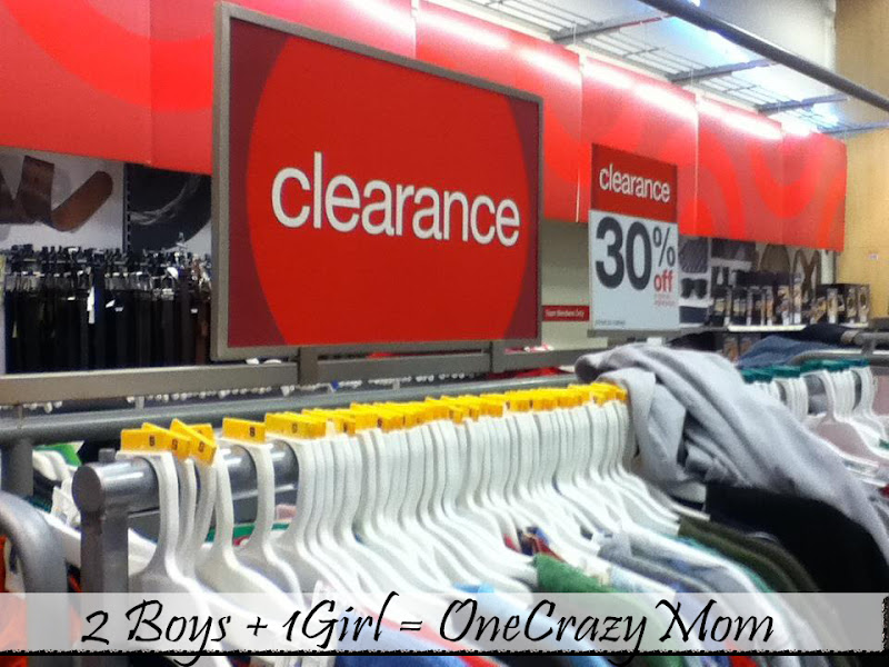 Photo: First thing... I found Clearance... that's a good thing.....