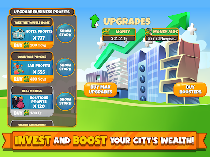Holyday City Tycoon: Idle Resource Management Screenshot