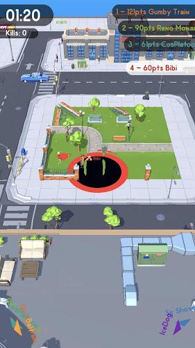 Hole.io Android App Screenshot
