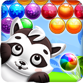 Raccoon Bubbles - Bubble Shooter