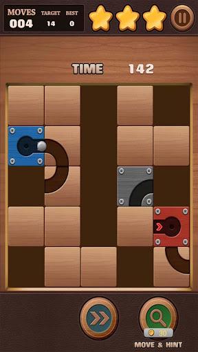 Moving Ball Puzzle screenshot 1