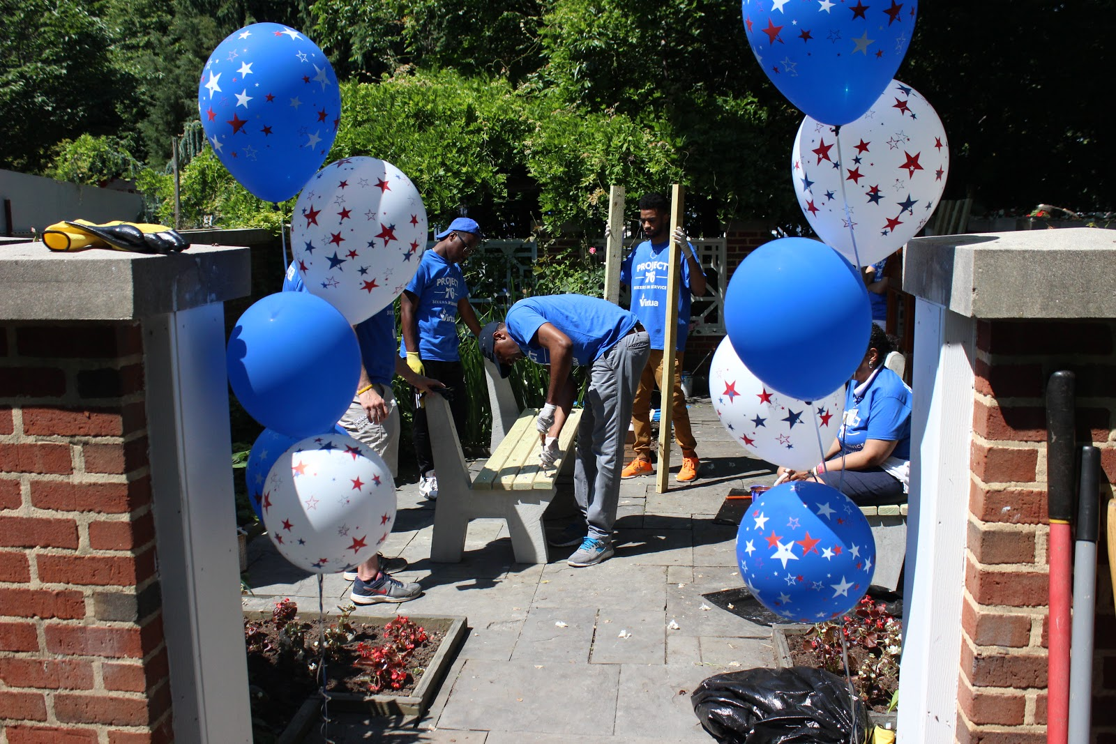 Third Annual Project 76 Day Revitalizes Camden Children 39 S