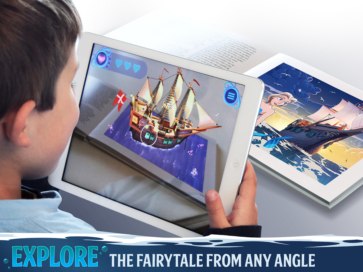 The Little Mermaid - AR Book- screenshot