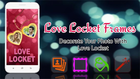 Love Photo Frames - Love Locket Photo Editor Screenshot