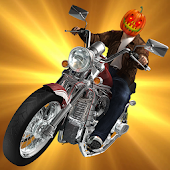 Halloween Real Bike Racer Simulator 2018