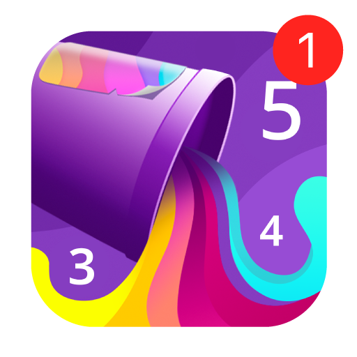 Color by Number Oil Painting Icon