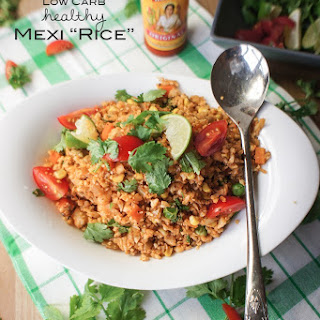 "Low Carb Mexican ""Rice"" {Paleo, Vegan}"