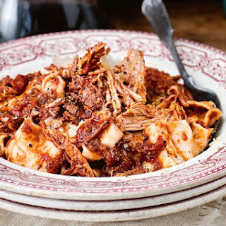 Slow-roasted Pork And Red Wine Ragu With Pappardelle.