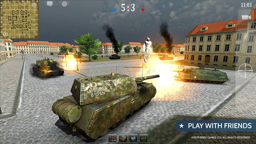 Armored Aces - Tanks in the World War android2mod screenshots 3