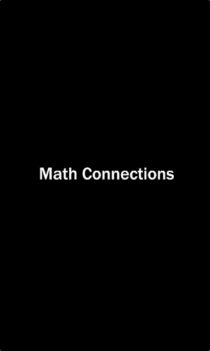 Math Connections screenshot 1