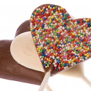 Valentine Lollipops.