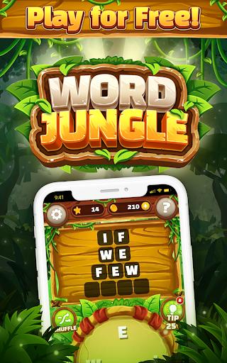 Word Jungle - FREE Word Games Puzzle apktram screenshots 9