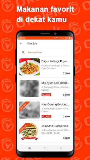 OKEJEK - Ojek Online, Pesan Makanan & Belanja 4.0.3 Screenshots 5