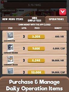 Idle Cafe Tycoon – My Own Clicker Tap Coffee Shop 4