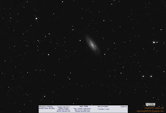Photo: A photo I took from my house of a nice galaxy, NGC7606.  Shot over three nights it encompasses 2.5 hours of images.