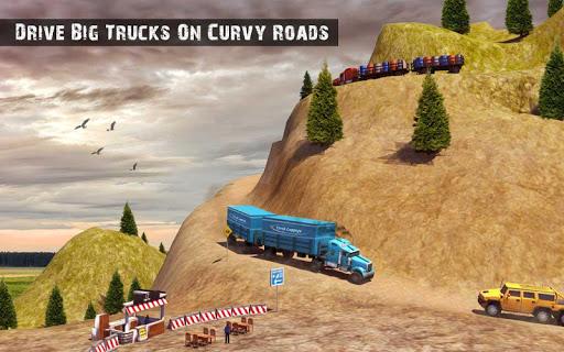 USA Truck Driving School: Off-road Transport Games 1.10 screenshots 12