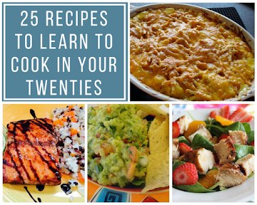 25 Recipes To Learn To Cook In Your Twenties