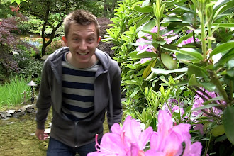 Photo: Brock in the Butchart Gardens http://ow.ly/caYpY