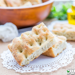 Focaccia Bread With Herbs