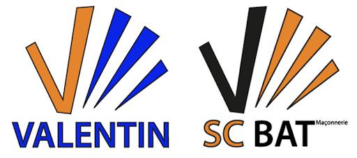 Logo Valentin et SC BAT