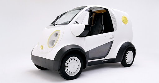 Honda Co-Development of 3D Printed Vehicle