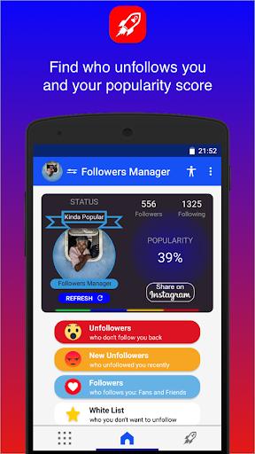 Followers Chief 1.4.4 screenshots 4