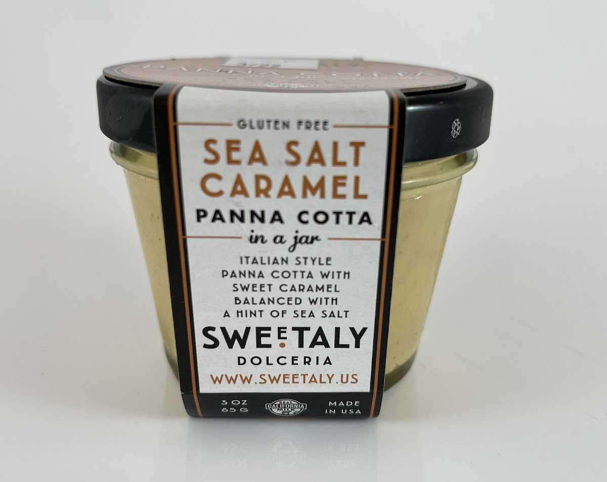 Sea Salt Caramel Panna Cotta