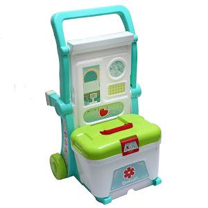 Set Troller Little Doctor - Trusa de doctor, jucarie de rol
