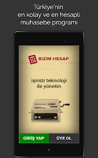 Bizimhesap- screenshot thumbnail