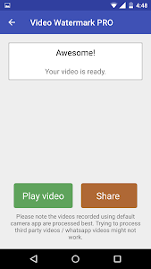 Video Watermark PRO v1.0