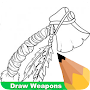 How To Draw Weapons APK icon