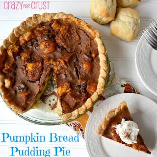 Pumpkin Bread Pudding Pie Recipe