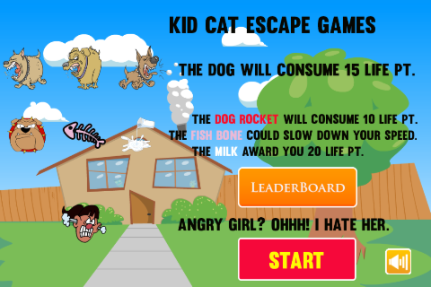 Kid Cat Escape Games