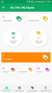 OfferAli Business App - náhled