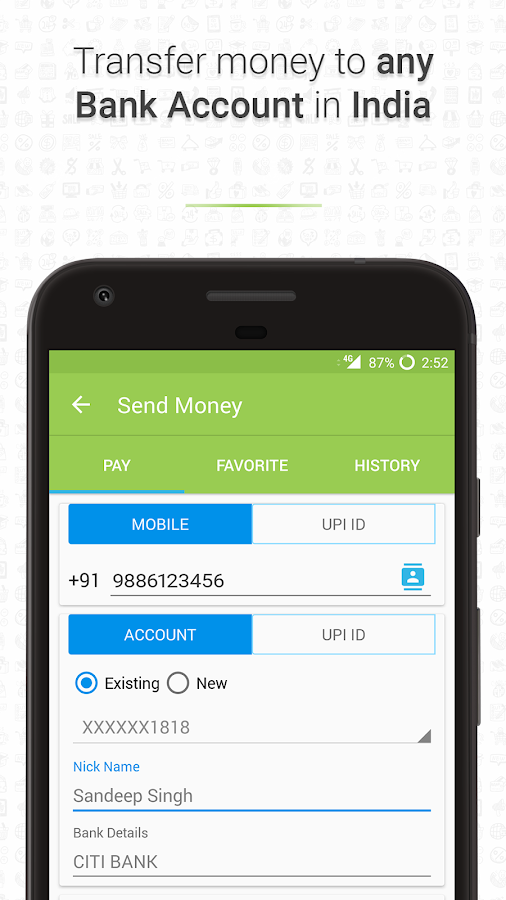 how to change play store payment account