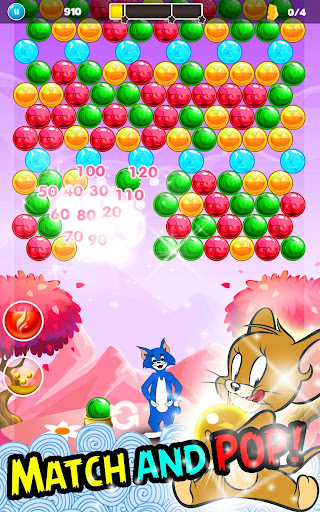 Tom Cat Pop : Jerry Bubble Pop And shooter 1.0 screenshots 4