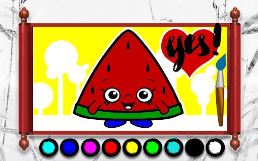 玩紙牌App|ショプキンの本を着色キッズ免費|APP試玩
