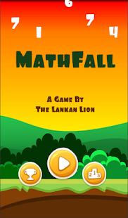 Download MathFall - Best Math Apps & Brain Games for Kids For PC Windows and Mac apk screenshot 1
