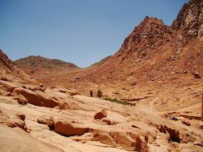 Photo: #022-Le chemin pour le Mont Moïse