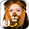 Animal Face Morphing Stickers icon