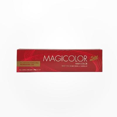 Tinte Slik Magicolor Tubo 4.6 Kit Castaño Rojizo