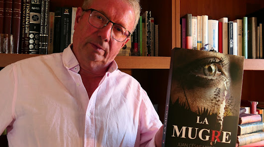 Juan César Morcillo presenta su novela 'La mugre' en Roquetas
