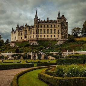 Dunrobin Castle by Nathan Robertson - Buildings & Architecture Public & Historical ( gardens, gothic, castle, highlands, landscape, scotland )