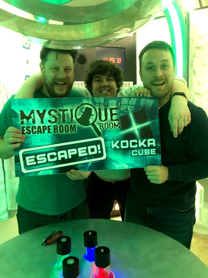 Mystique Escape Room - Cube