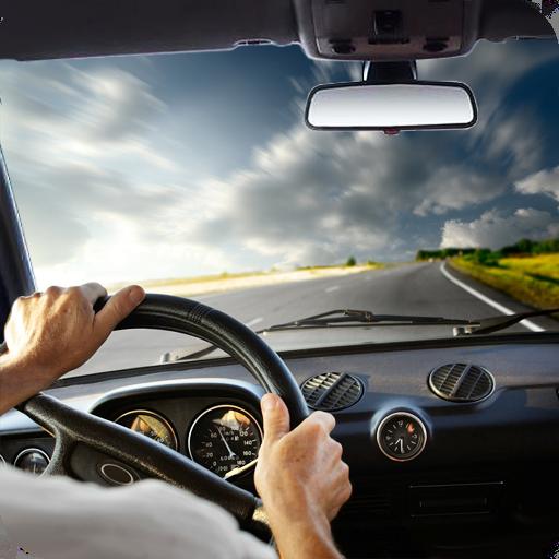 車の中で運転 - Driving in Car 賽車遊戲 App LOGO-硬是要APP