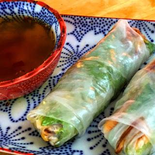 Vietnamese Salmon Rolls
