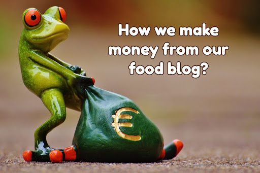 make money from our food blog